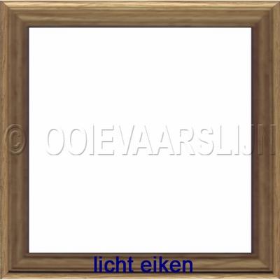 Lijstje licht eiken  15 x 15 cm